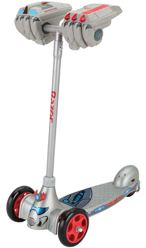 #8. Razor Jr. Robo Kix Scooter