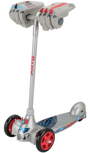 #8. Razor Jr. Robo Kix Scooter