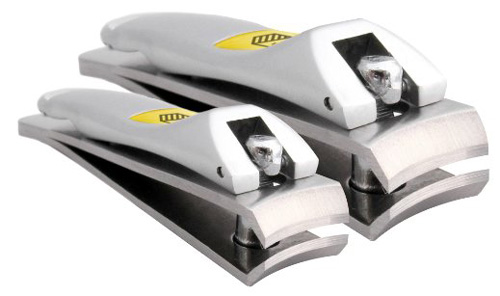 #5. The Klipit Nail Clipper Set For Fingernails And Toenails Stainless Steel (HAR-003)