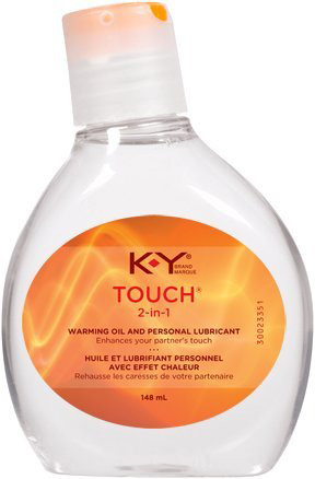 13. KY K Y Touch 2-in 1 Warming Personal Lubricant 5.0 Oz. (2 Bottle)