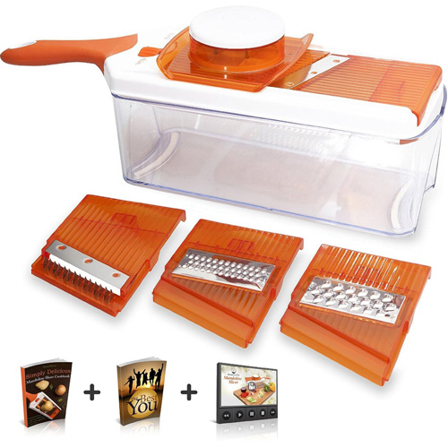 #7. Adjustable Mandoline Slicer