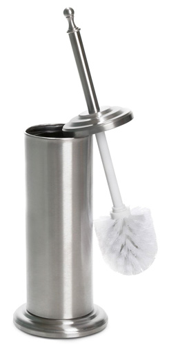 #10. Home Intuition Stainless Steel Toilet Brush