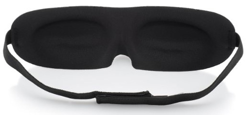 #7. Premium Sleep Mask by MemorySoft - Patented, Sleek Contoured Memory Foam Design Created for Optimal Comfort & Softness