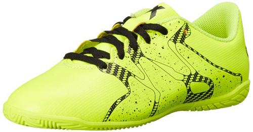 #5. Adidas Performance X 15.4 Indoor Soccer Shoe