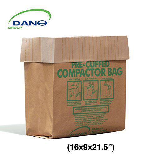 #2.Compactor Bags Pre Cuffed (50 Pack)