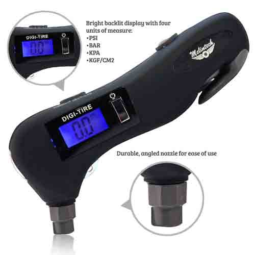 #5. McLintech 5 In 1 Tire Pressure Gauge