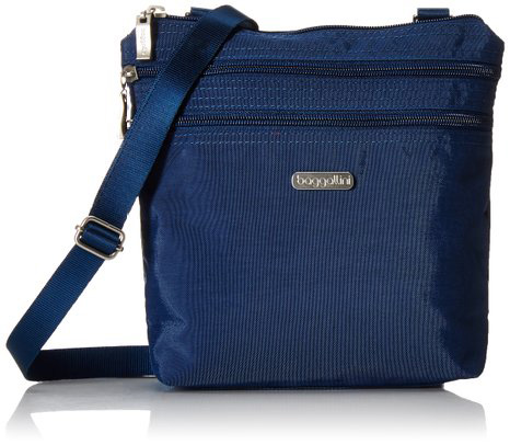 #10. Zipper Cross-Body Travel Bag