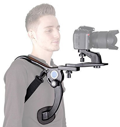 #10. SENHAI Hand Free Light Weight Shoulder Mount Rig Stabilizer for Camcorders DV HDV DSLR Video Nikon Canon Camera.