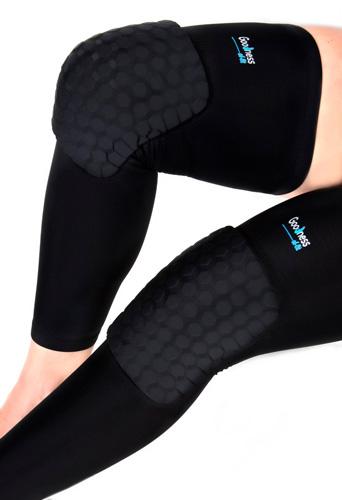 #13. Turtleback Knee Compression Leg Brace Pads