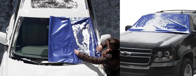FrostGuard Premium Winter Windshield and Wiper Cover