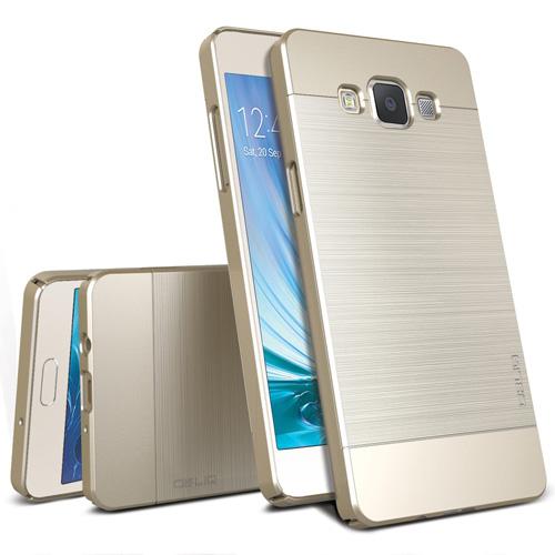 #2. Galaxy A5 Case, OBLIQ Slim Champagne Gold