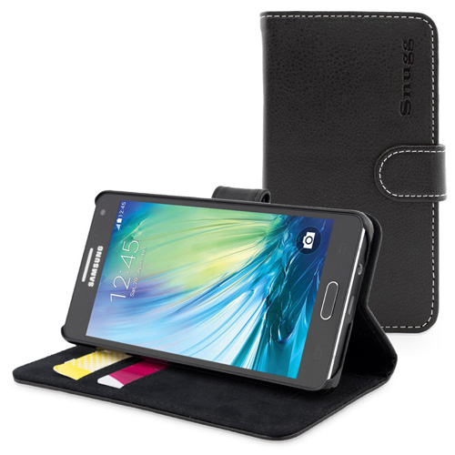#4. Snugg Slim Galaxy A5 Case - Leather Wallet Case