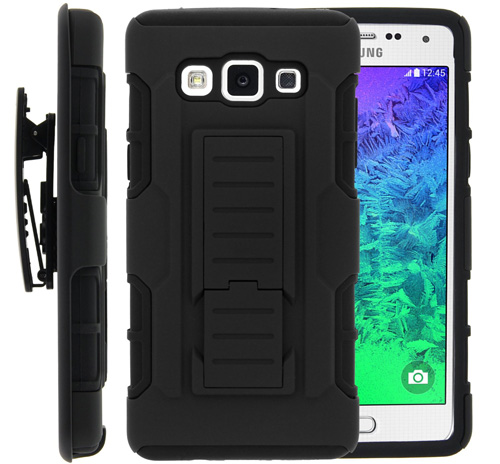 #5. Galaxy A5 Case, Galaxy A5 Holster, Miniturtle High Impact Hard Cover