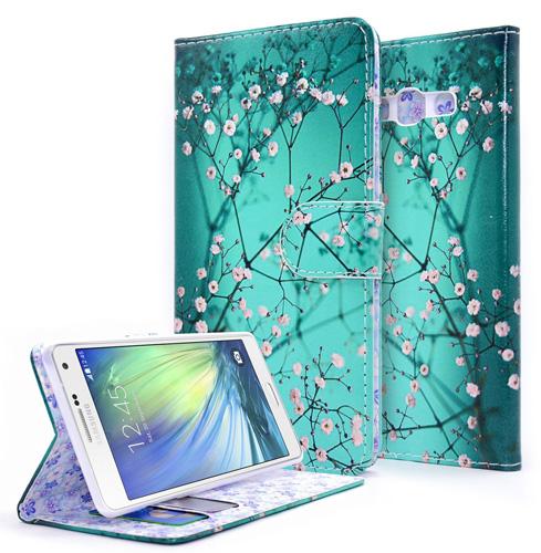 #3. Galaxy A5 Case, NageBee - Galaxy A5 Phone Case Design Dual-Use Flip