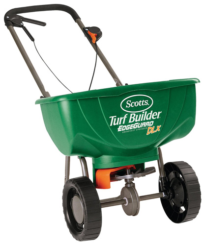#3. Scotts Turf Builder Broadcast Spreader