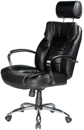 #4. Comfort Products 60-5800T Commodore Oversize Leather Chair