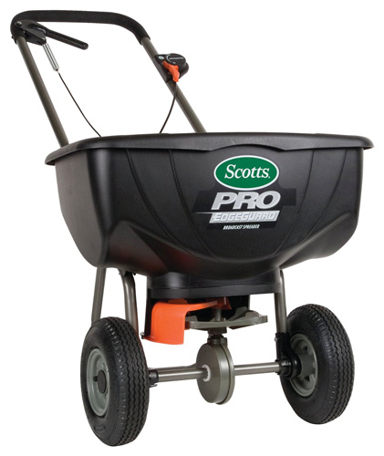 #2. Scotts Pro Broadcast Spreader