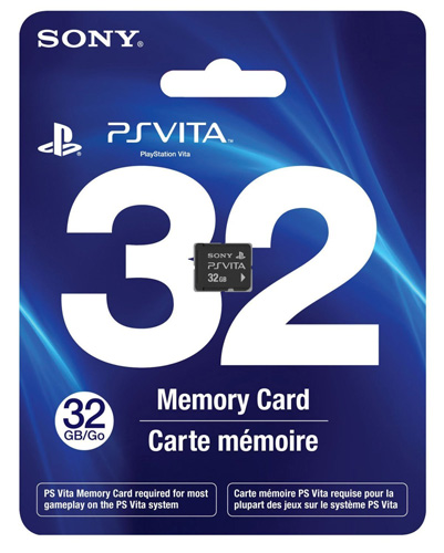 #4. 32GB PlayStation Vita Memory Card