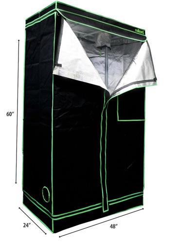 #5. MILLIARD Reflective Hydroponic Mylar Grow Tent