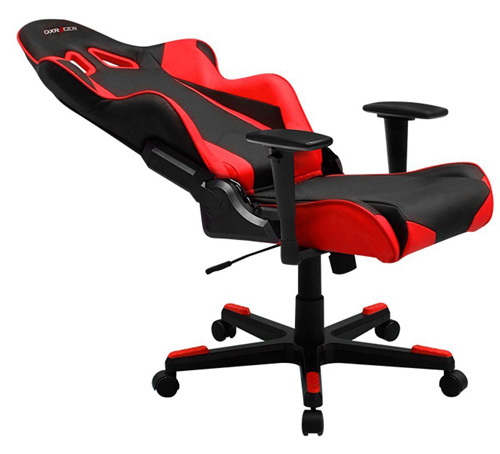 #5. DXRacer Racing Series Bucket Seat Office Chair