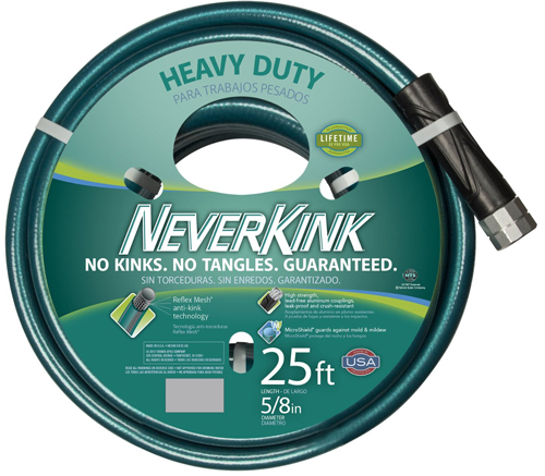 #1. Series 2000 Ultra FlexibleNeverKink 8615-25Garden Hose, 5/8-Inch