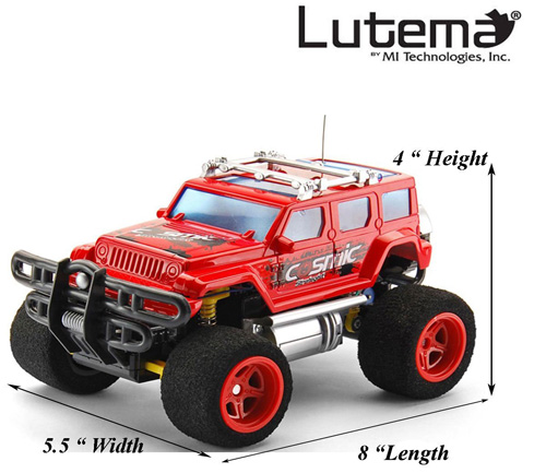 #2. Lutema Cosmic Rocket 4CH Remote Control Truck