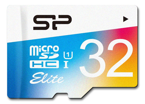 #5. Silicon Power 32GB MicroSDHC