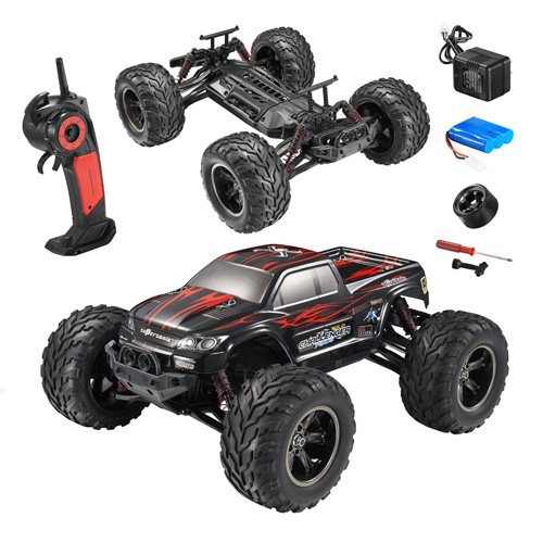 #1. Hosim 33+MPH 1/12 Scale Electric RC Car