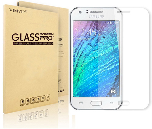 4. VIMVIP® Galaxy J7 Tempered Glass Screen Protector - Premium Tempered Glass Screen Protector