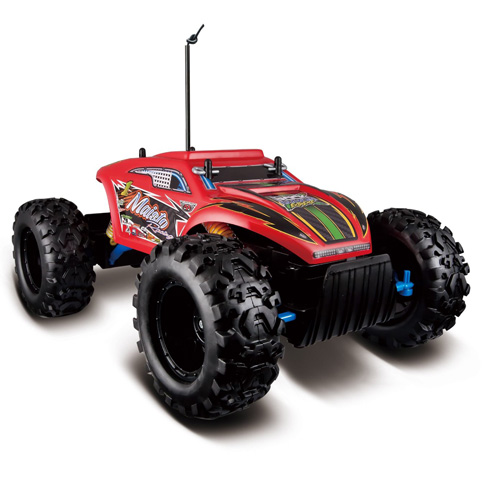 #1. Maisto R/C Rock Crawler Extreme Radio Control Vehicle