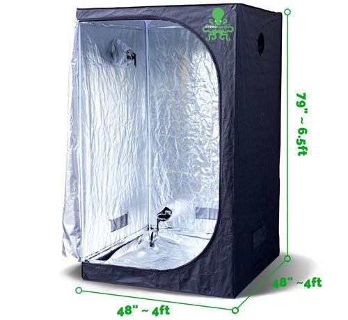 #2. Hydrokraken Hydroponic Indoor Grow Tent