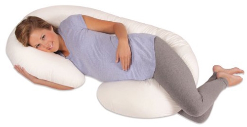 #1. Leachco Snoogle Total Body Pillow