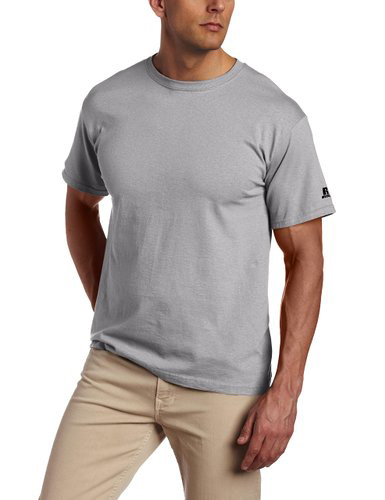 #5. Russell Athletic Men's Basic Cotton T-Shirt `
