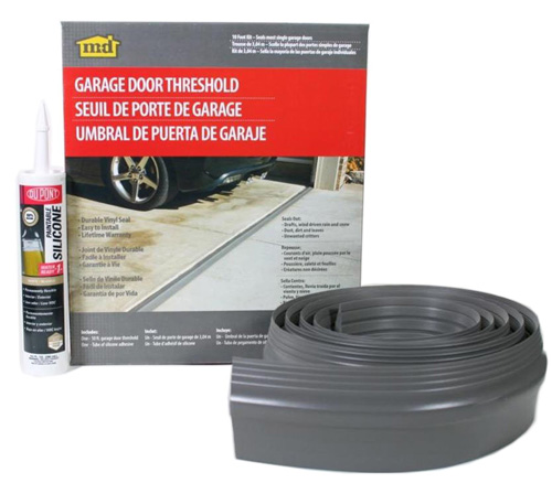 #4. M-D Building Products 50100 10-feet Single Door Garage Door Threshold Kit