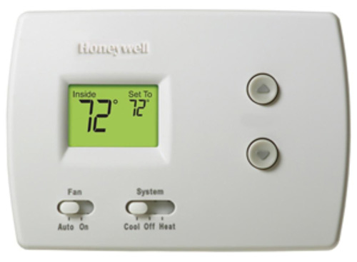 #3. White- Rodgers UP300 Universal 7 Day Programmable Thermostat With Home/Sleep/ Away Presets