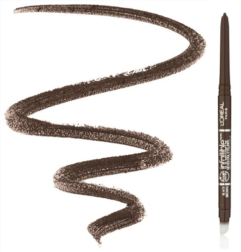 #4. Black, Brown L'Oréal Never Fail Eyeliner