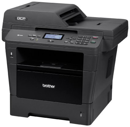 #1. Brother DCP8155DN Monochrome Printer