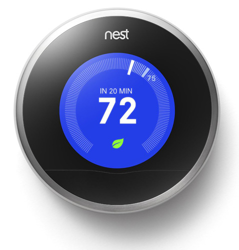 #5. Nest Learning Thermostat, 2nd Generation, Works With Alexa