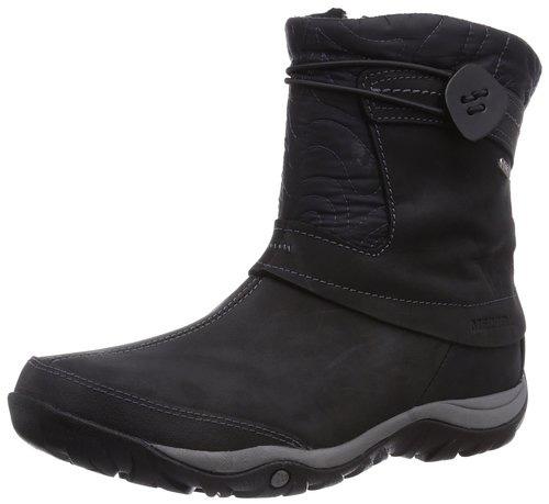 #5. Merrel Women's Dewbrook Zip Waterproof Winter Boot