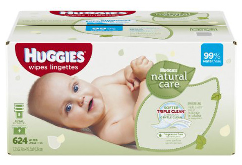 #4. Huggies Natural Care Baby Wipes Refill