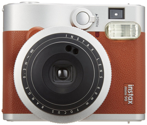 #3. Fujifilm INSTAX Mini 90 Neo Classic Instant Camera (Brown)