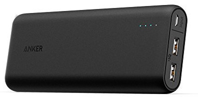 #3. Anker Portable Charger Power Core 20100