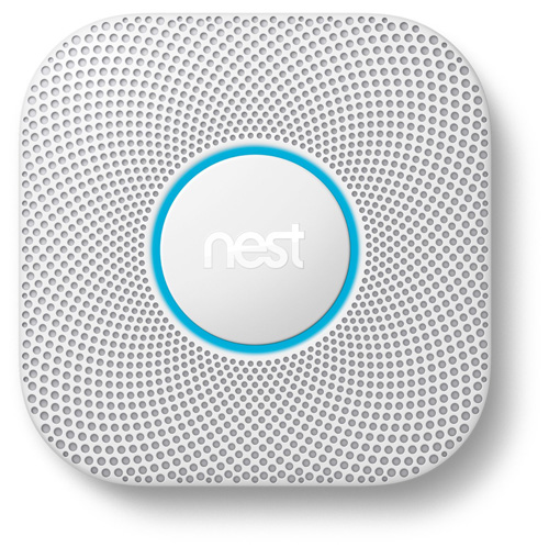 #1. Nest Protect 2nd Gen Smoke Plus Carbon Monoxide Alarm