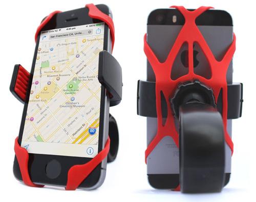 #4. Universal Bike Phone Mount Holder