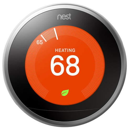 #1. Nest Learning Thermostat, 3rd Generation, Works With Alexa
