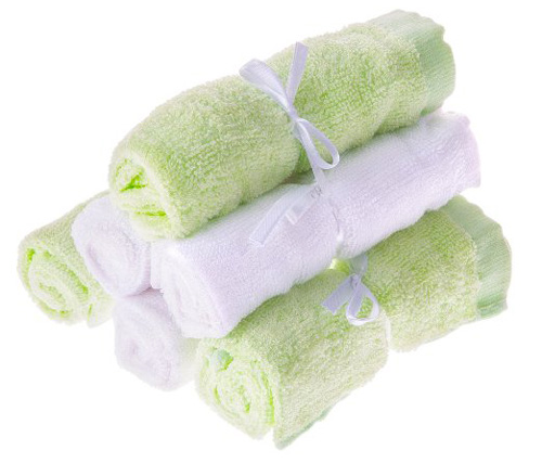 #5. SiMignon Bamboo Baby Washcloths