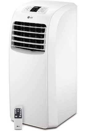 #1. LG Electronics LP0814WNR 115-volt Portable Air Conditioner