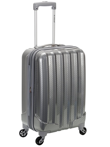 #1. Expandable Abs Carry on Luggage