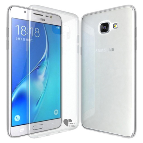 #1. Galaxy C5 Case, Love Ying [Crystal Clear]