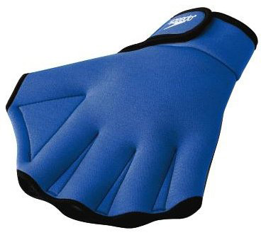 #1. Speedo Aqua Fit Swim Gloves